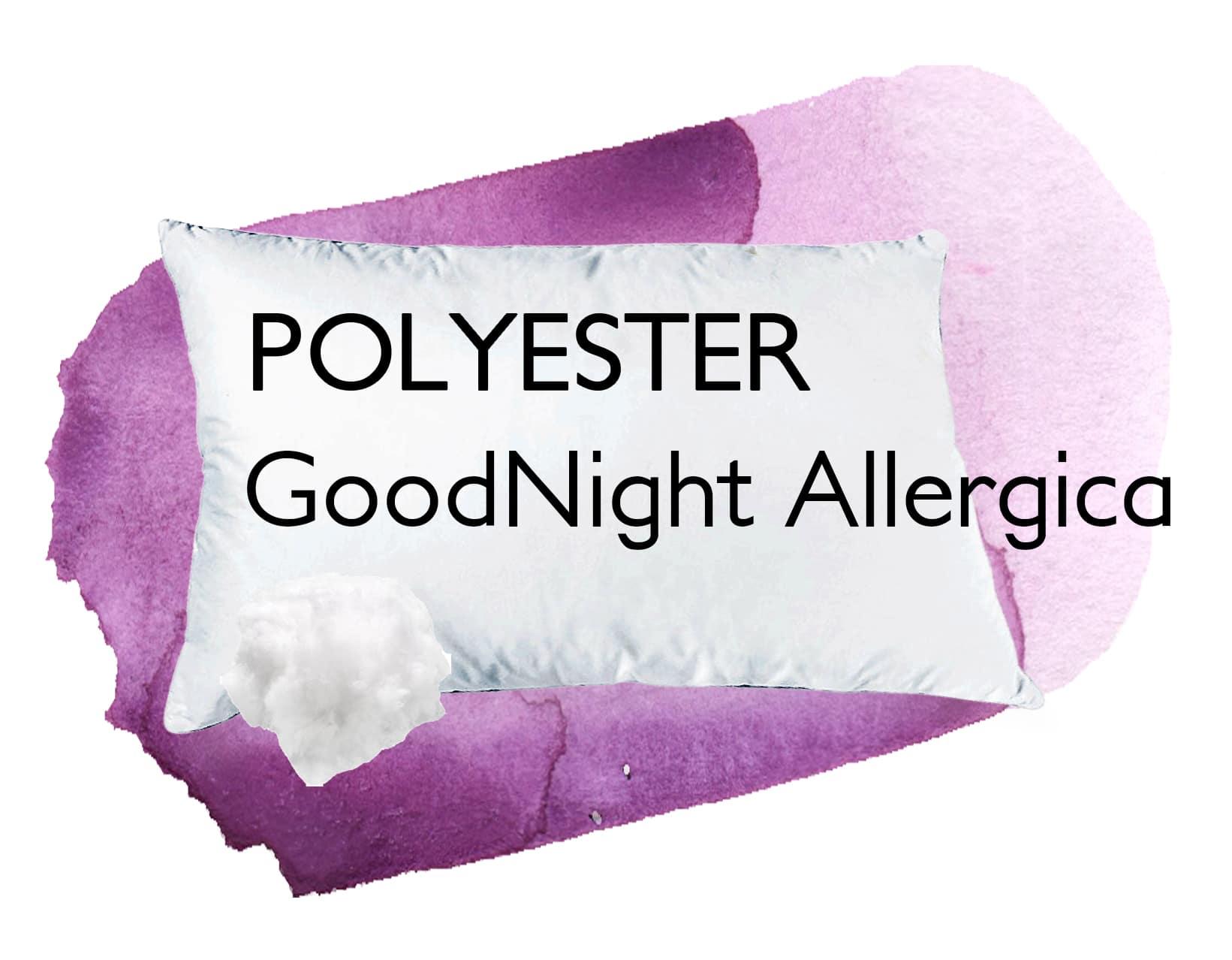 Kissen synthetisch Polyester Allergiker GoodNight Allergica