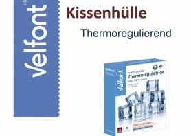 Velfont Kissenhülle Thermoregulierend
